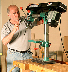 Radial Arm Drill Presses Finewoodworking