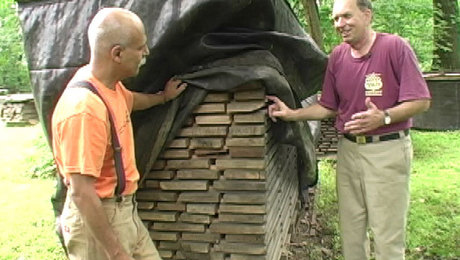 how to dry wood; drying lumber; how to kiln dry wood