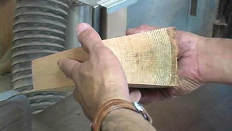Quarter Sawing Lumber; how to cut wood quarter sawn