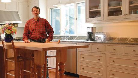 New Yankee Workshop Kitchen Cabinet Basics Part