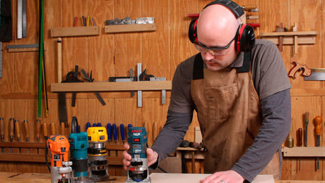 how to buy and use a trim router in fine woodworking