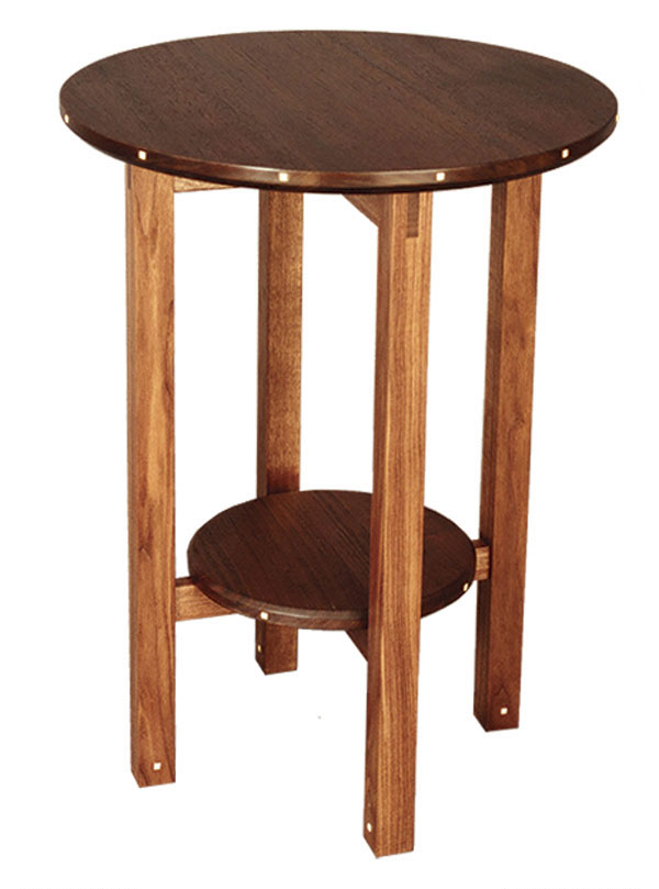 Video Build A Round Table Finewoodworking
