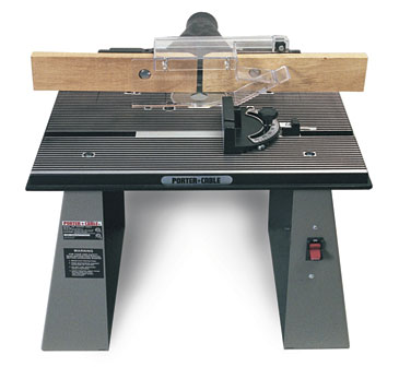 Router table no 698 finewoodworking for the small shop a table mounted router can do all that a shaper can and maybe more raised panels box joints dovetails mortises tenons and moldings greentooth