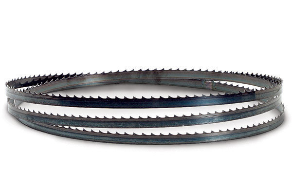 TIMBER WOLF® BAND SAW BLADES. TIMBER WOLF ® band saw blades are AVAILABLE IN ANY LENGTH. All our TIMBER WOLF ® blades are made as ordered and are cut, welded and packaged in our facility in Bethel Park, PA.. Through the use of premium Swedish steels, proprietary induction hardening methods and exclusive tooth milling processes came some of the finest woodworking .
