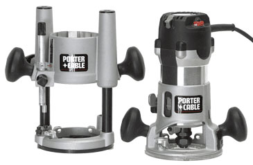 Router combo kit 895pk finewoodworking recipient of one of two best overall awards the porter cable placed first or second in a number of categories the oversize lever on its fixed and plunge greentooth Image collections