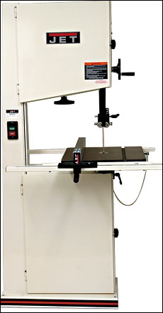 18-in  Bandsaw JWBS-18X - FineWoodworking