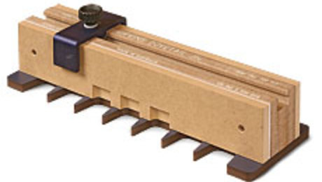 Dovetail Jig with Backer-Board Assembly - FineWoodworking