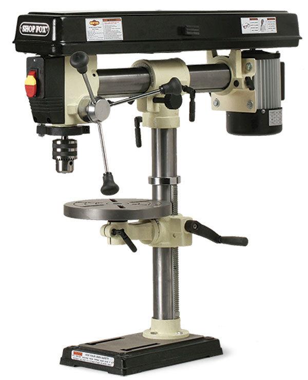 W1669 Radial Arm Drill Press Finewoodworking