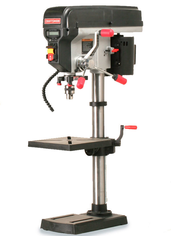 Craftsman 21914 Benchtop Drill Press - FineWoodworking