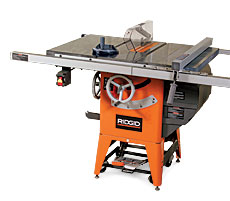 Review Rigid Tablesaw R4511 Hybrid Finewoodworking