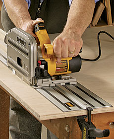 dewalt track saw dws520k plunge cut circular saw finewoodworking 10718