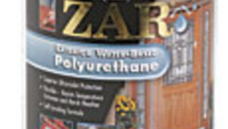Exterior water based polyurethane finewoodworking for Zar exterior water based polyurethane