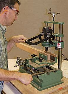 Richline 18 8 Mortise Cutting Machine Finewoodworking