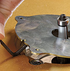 Incras magnalock mounting plate finewoodworking click to enlarge greentooth