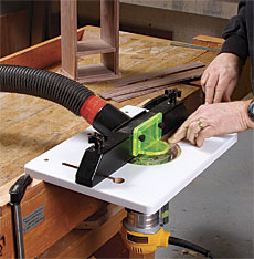 Rockler trim router table finewoodworking article image keyboard keysfo Images
