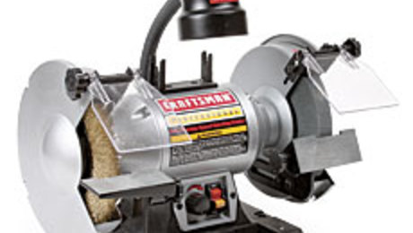 Craftsman 21162 Bench Grinder Finewoodworking