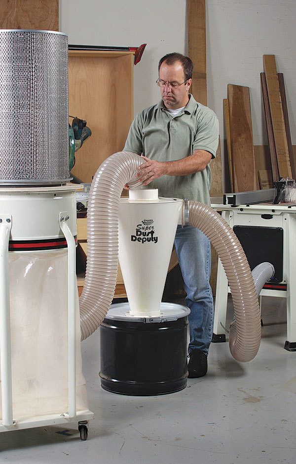 Soup Up Your Dust Collector - FineWoodworking