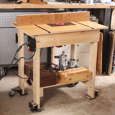 11 Great Router Tables Finewoodworking