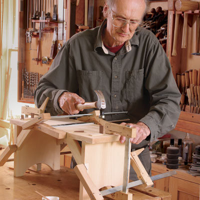 Build A Shaker Stool With Hand Tools