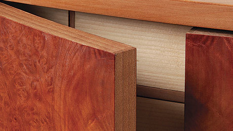 & Make Veneered Doors Look Like Solid Wood - FineWoodworking