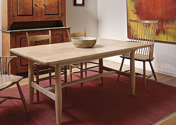 Scandinavian Kitchen Table FineWoodworking