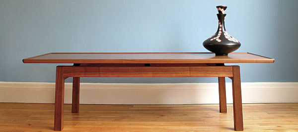 Stylish Coffee Table With Sleek Lines Finewoodworking