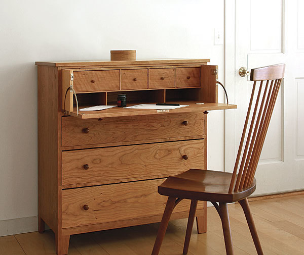 Build A Desk In A Drawer Finewoodworking