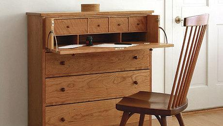 Build Secretary Desk In Bed Computer Desk