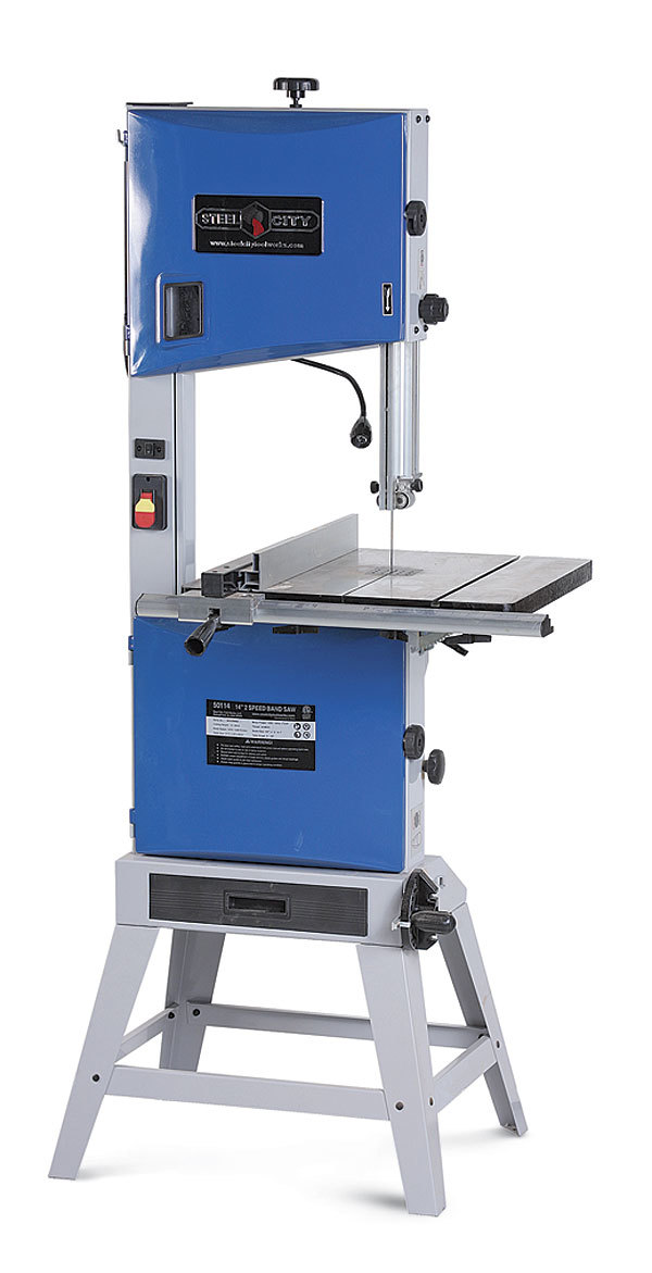 Steel City 50114 14-in. Bandsaw - FineWoodworking