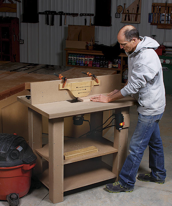Working Class Router Table Finewoodworking