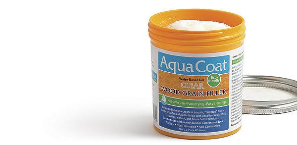 Aqua Coat Clear Wood Grain Filler Finewoodworking