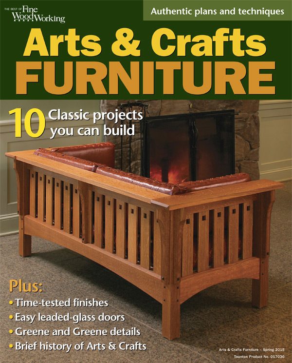 Arts Crafts Furniture Finewoodworking