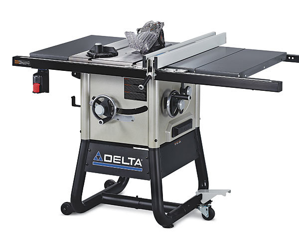 Delta 5000 series tablesaw finewoodworking deltas new tablesaw has a lot to offer greentooth Images