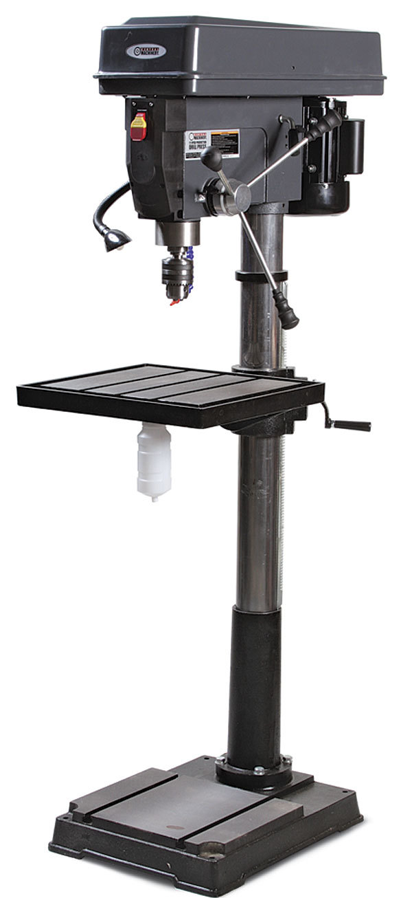 Central Machinery 39955 Drill Press - FineWoodworking