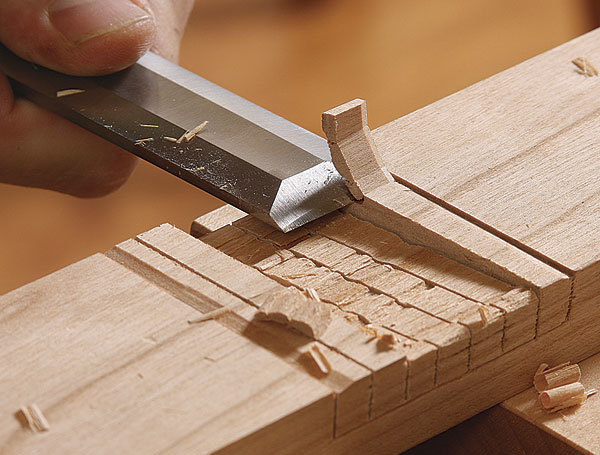 Cutting The Half Lap Finewoodworking