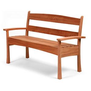Build A Garden Bench Finewoodworking