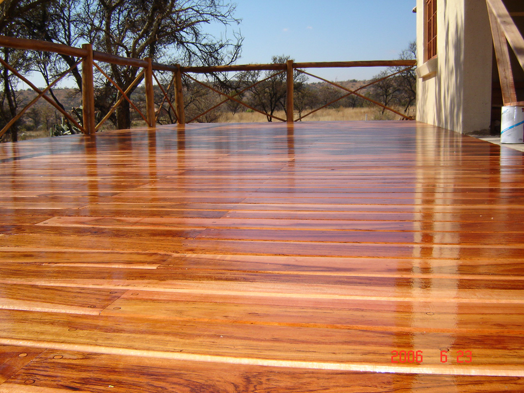 Wood Decking How We Do It In London Finewoodworking