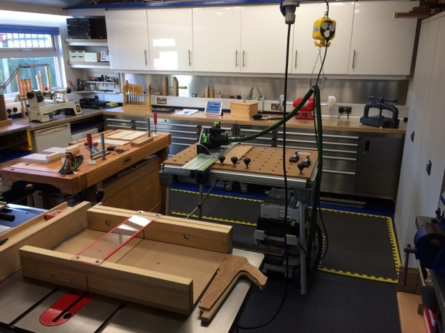 My Workshop layout - FineWoodworking