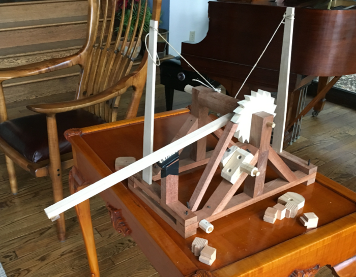 A Catapult - A School Science Project - FineWoodworking