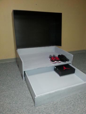 Shoe Box Cabinet - FineWoodworking