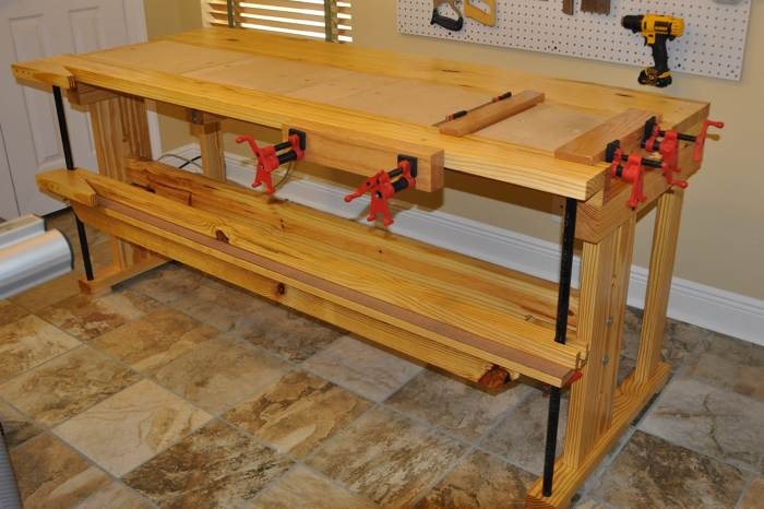 Newfangled Workbench Finewoodworking