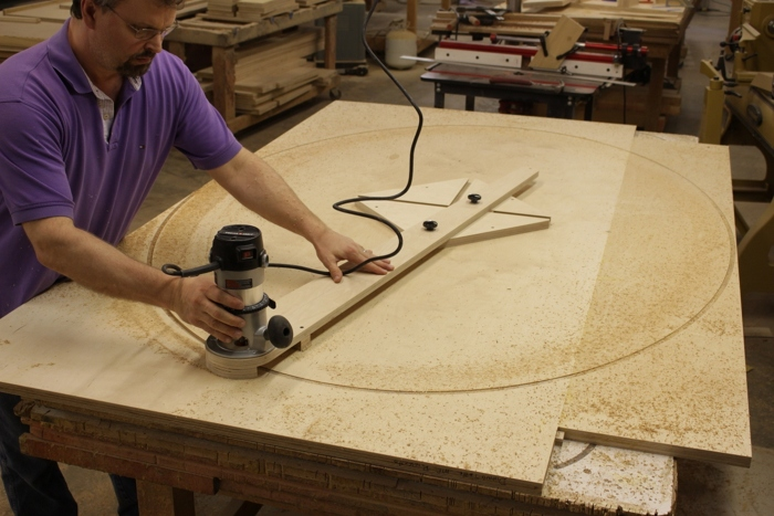 Large Elliptical Cutting Jig Finewoodworking