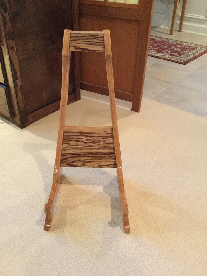 Phenomenal Wooden Guitar Stand Finewoodworking Ocoug Best Dining Table And Chair Ideas Images Ocougorg