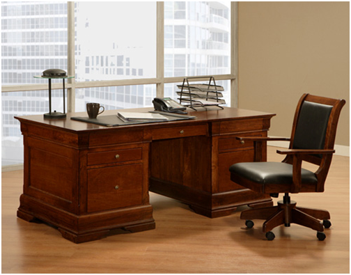 how to make office desk. Make A Statement At The Office With Handcrafted Wood Desk -  FineWoodworking How To Make Office Desk