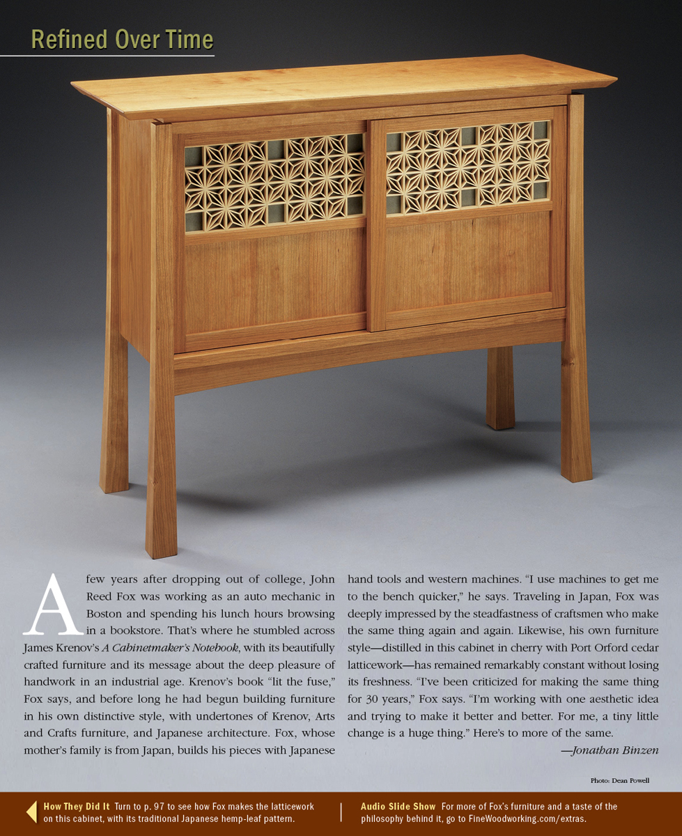 Experiments In Kumiko Woodwork Part I Finewoodworking