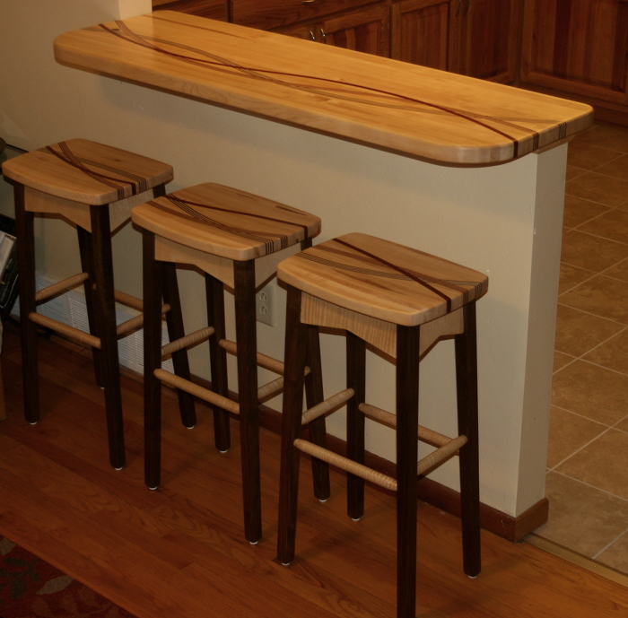 Bar And Stools Finewoodworking
