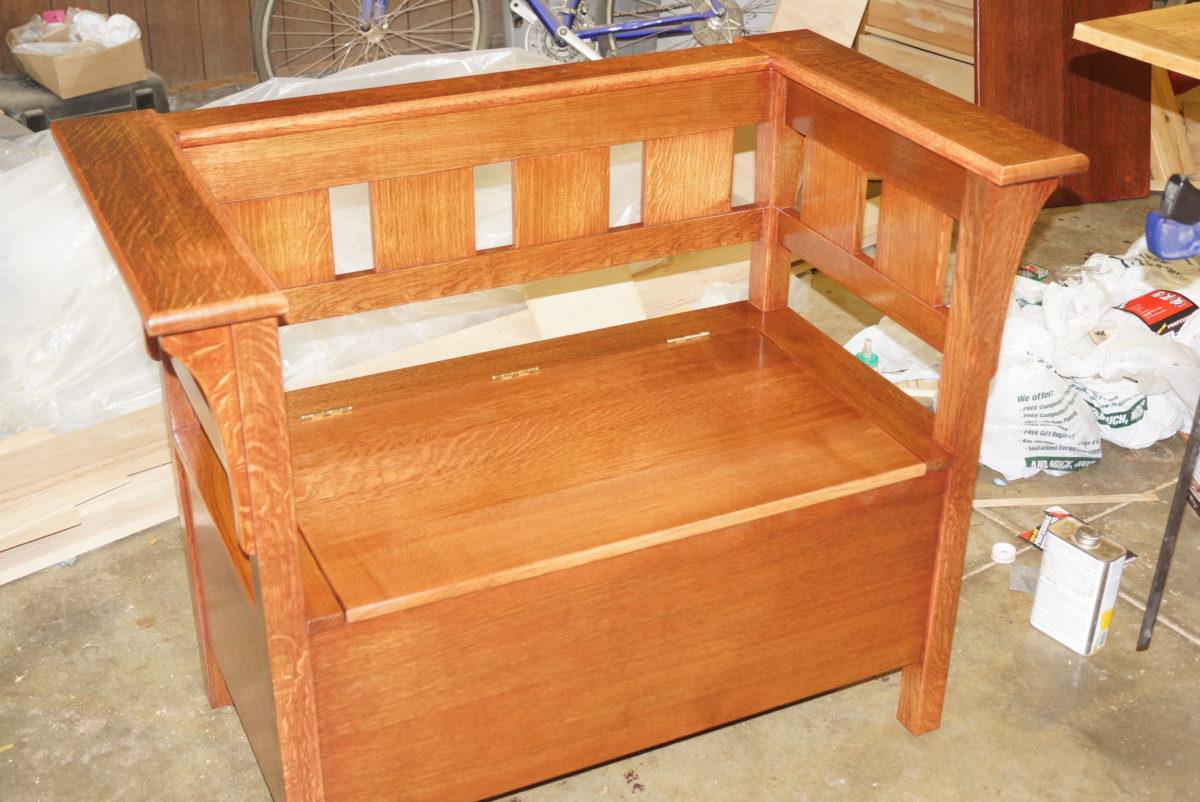 Super Stickley Inspired Bench Finewoodworking Inzonedesignstudio Interior Chair Design Inzonedesignstudiocom