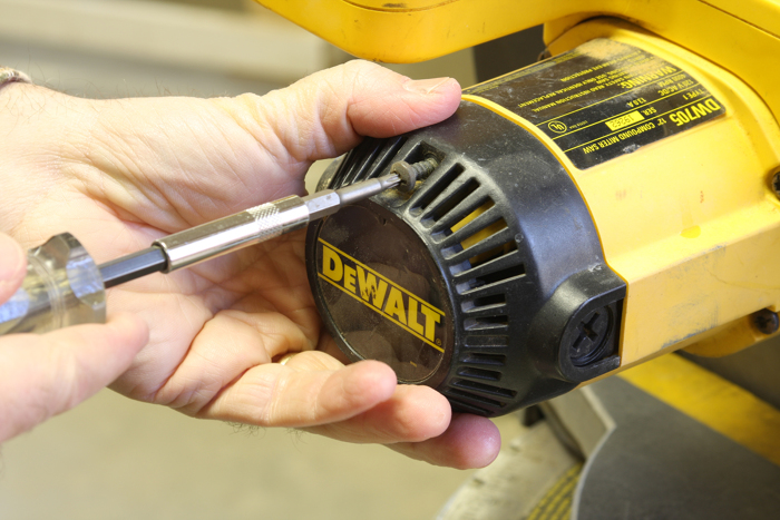 Repair a power tool with a simple brush change - FineWoodworking