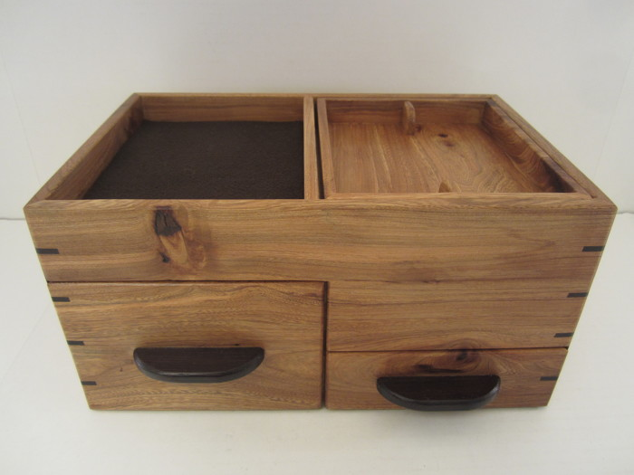 Mens Valet Box With Phone Charging And Hidden Compartments Texas
