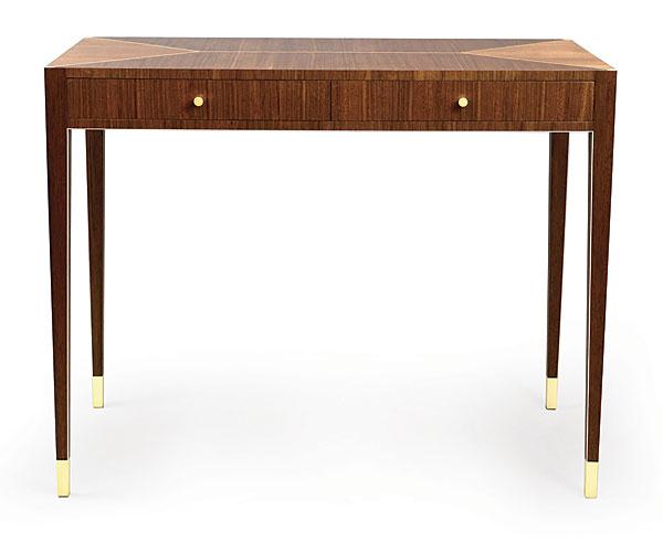 Art Deco Inspired Writing Desk Finewoodworking